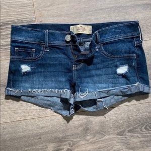 Hollister Destructed Short Shorts